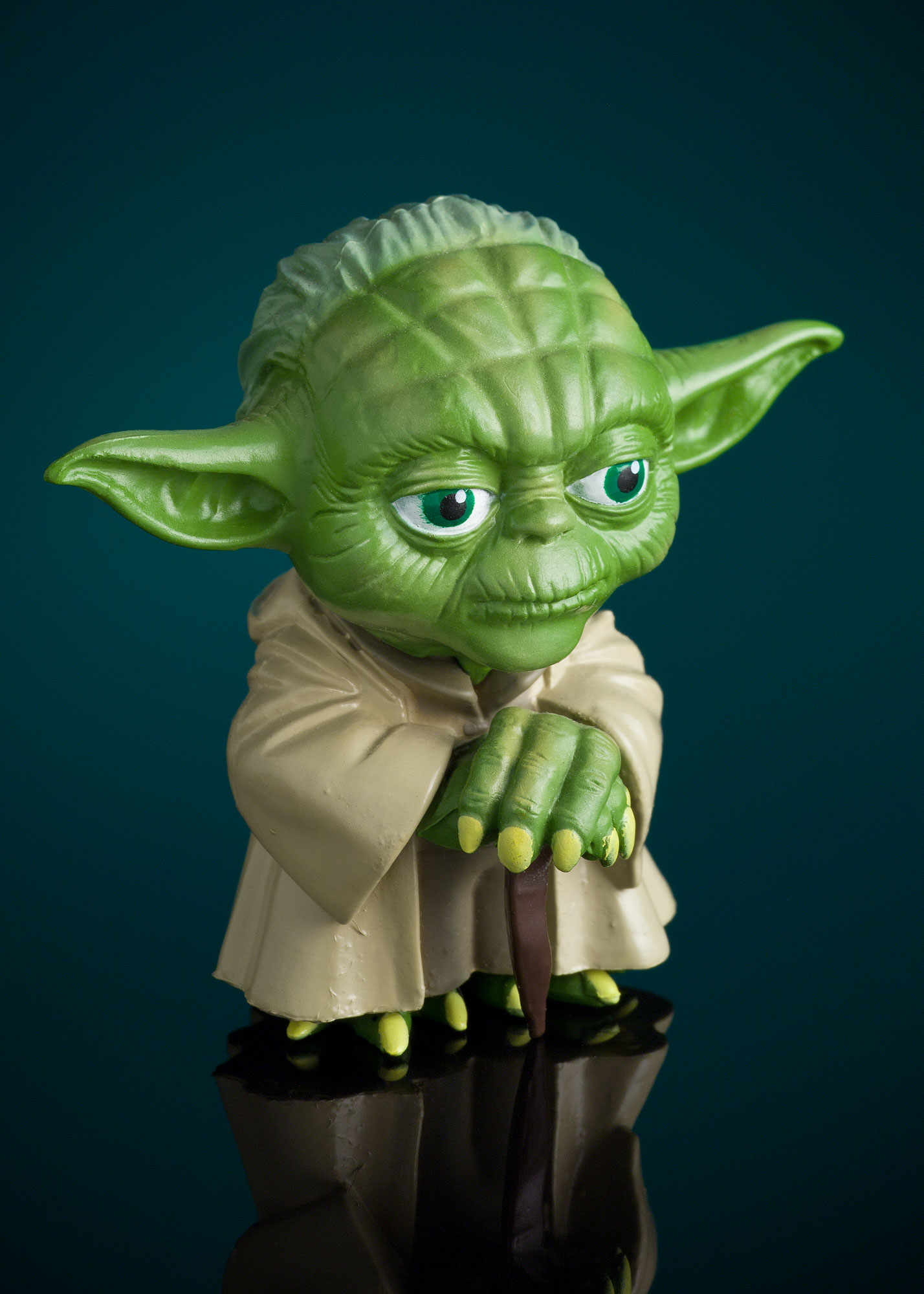 Product Photography I: Yoda Figure by Alex Kay