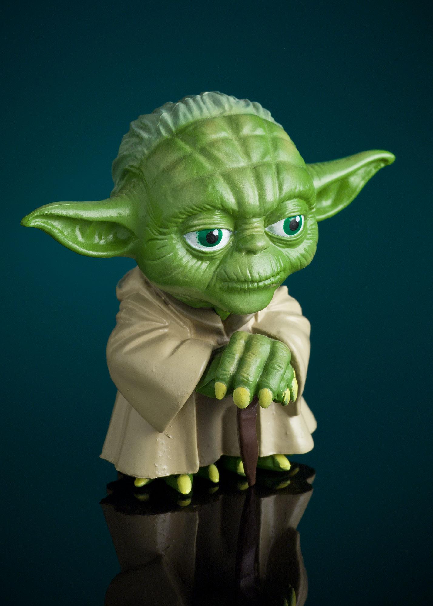 Product Photography I: Yoda Figure by Alex Kay