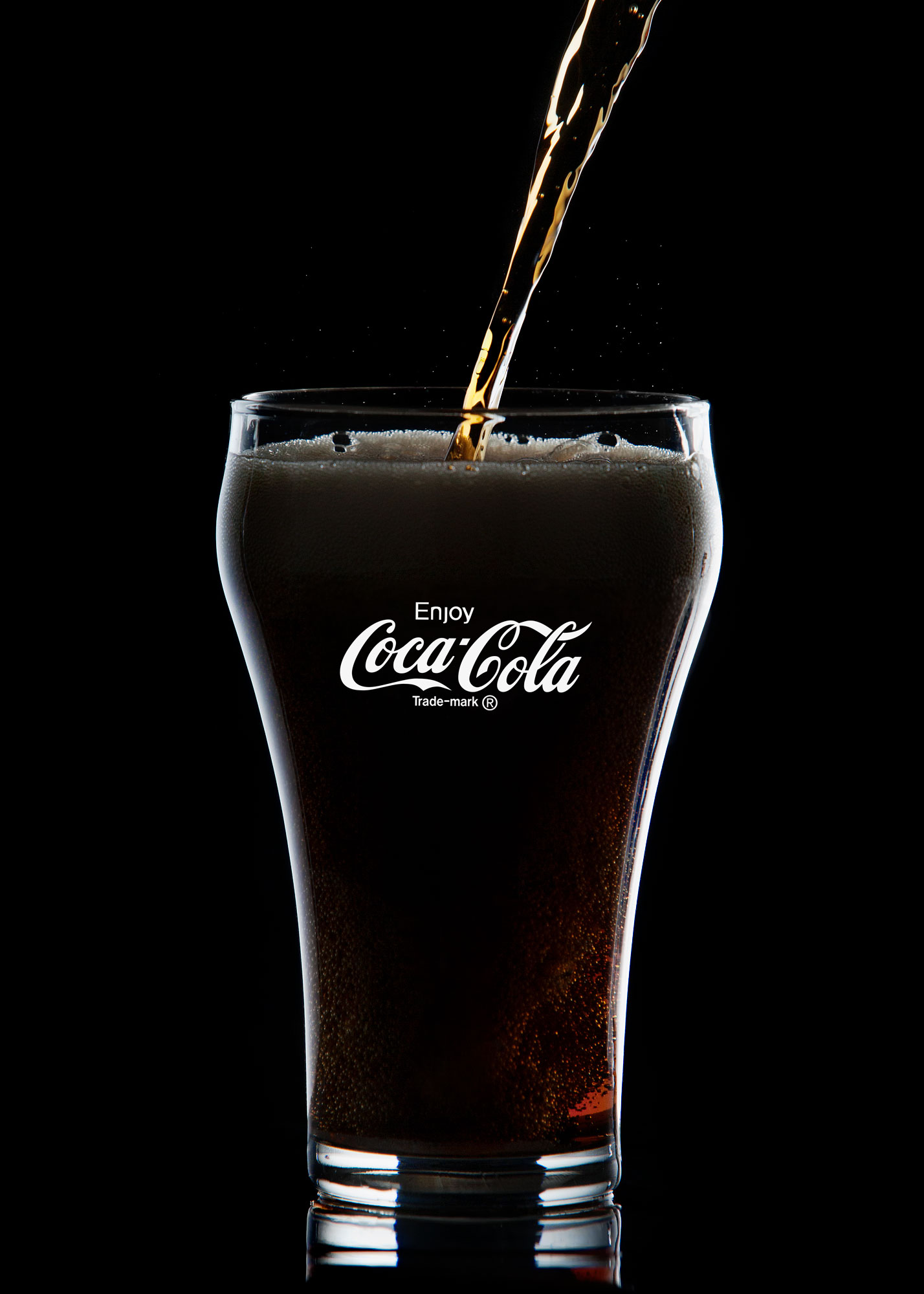 Product Photography II: Coca-Cola Glass by Alex Kay