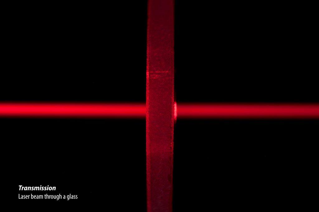 Study Of Light: Transmission by Alex Kay