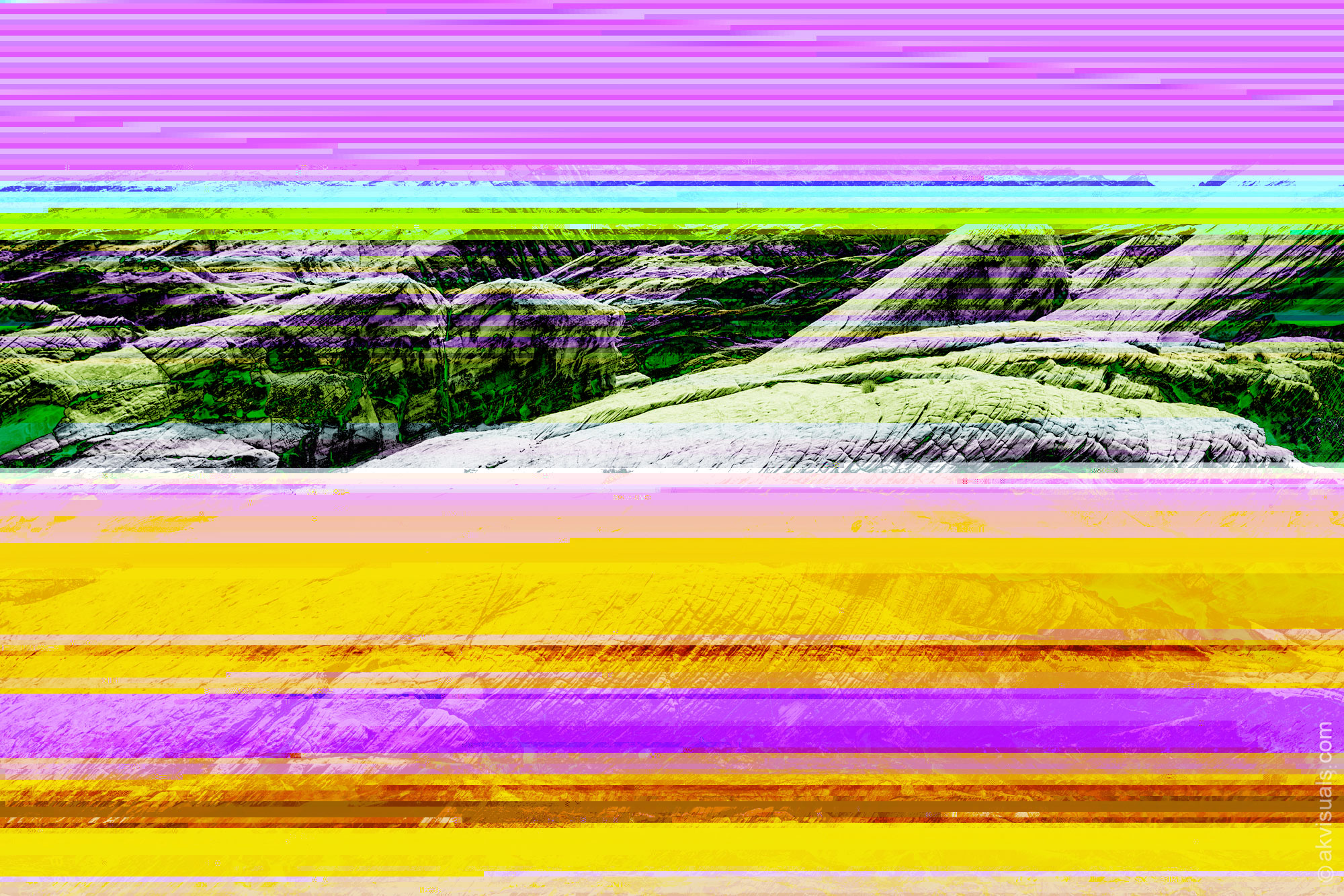 Glitch Art Experiment by Alex Kay