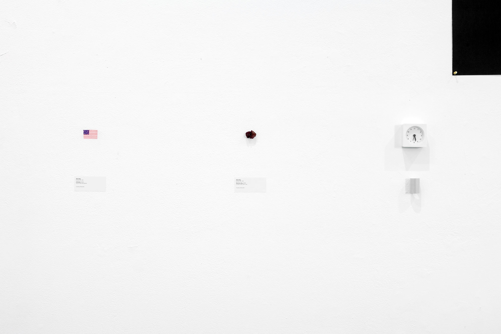 Meshki: Royal Black, Potato Sacks, i.e., Meaningmization, Small Objects #1 by Alex Kay