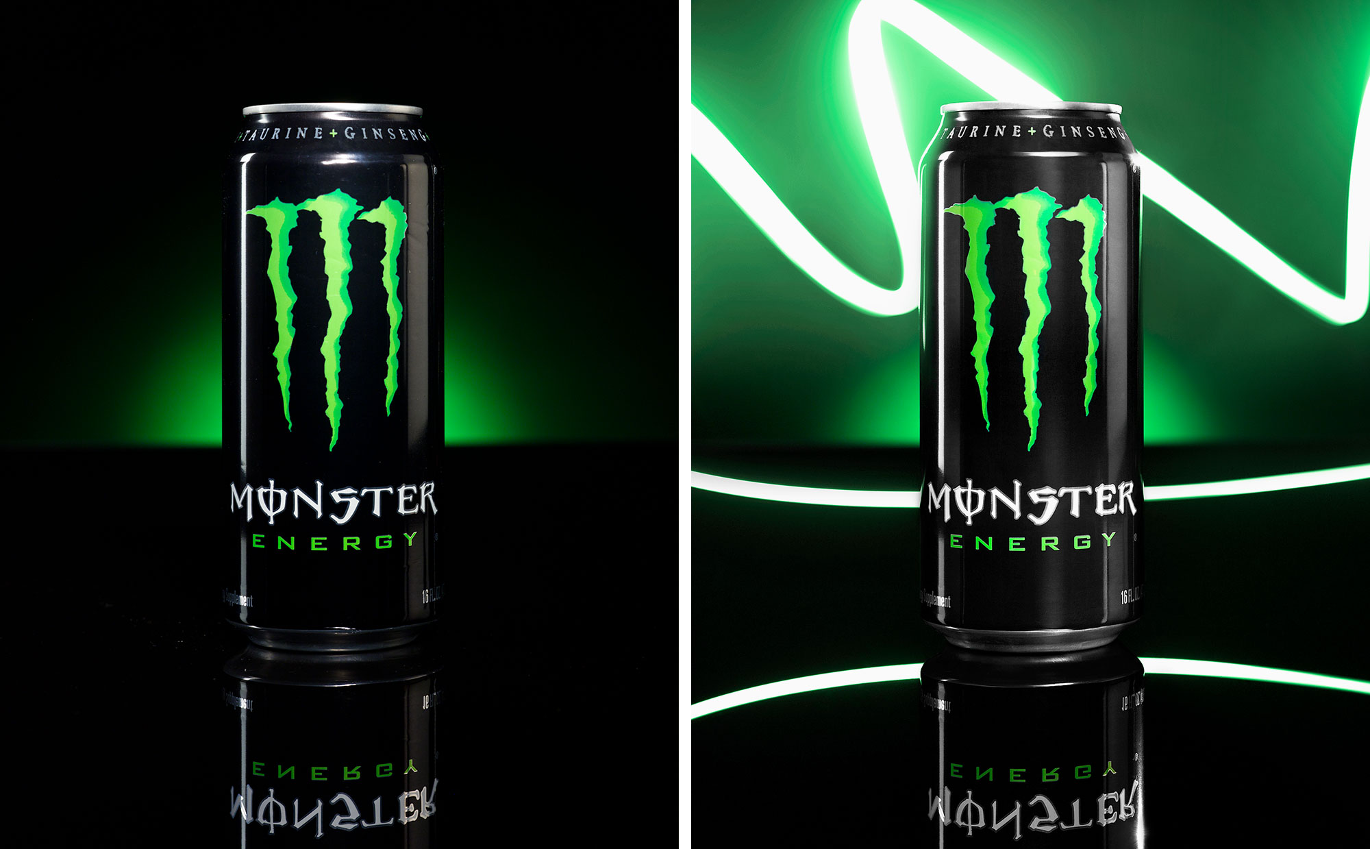 Professional Retouching I: Monster Energy Drink by Alex Kay
