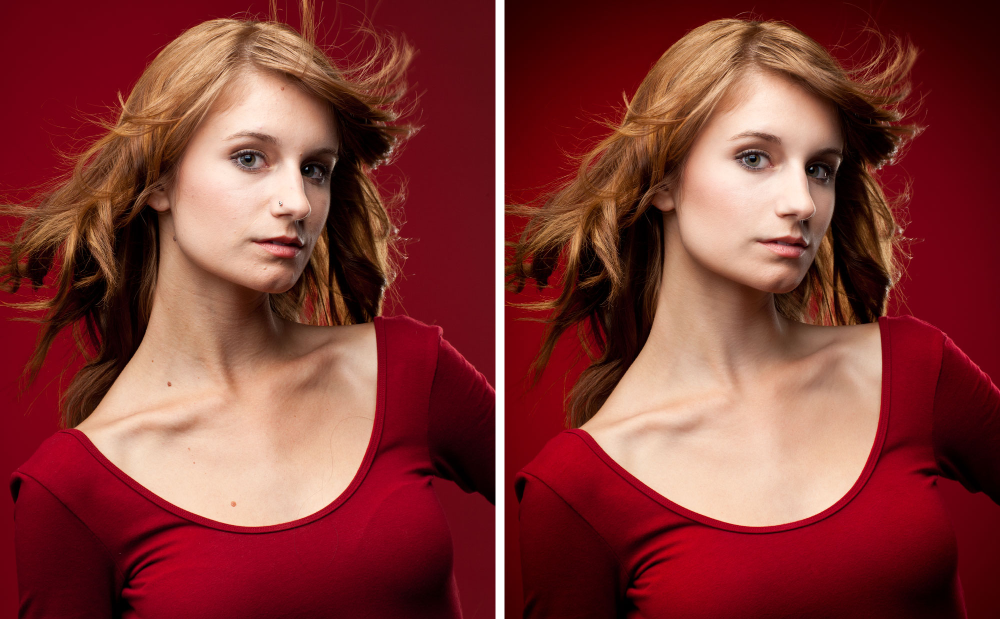 Professional Retouching I: Glamour Portrait #2 by Alex Kay